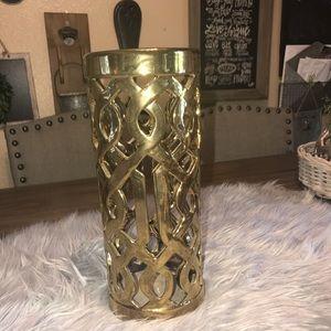 Other - Large Gold Vase